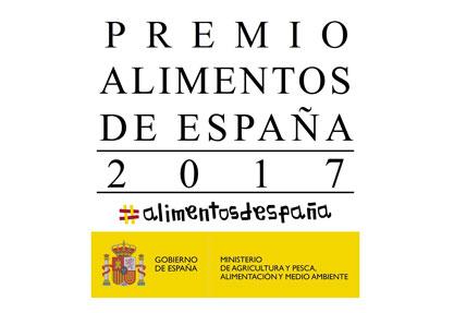 """Convocado el """"Premio Alimentos de España 2017"""""""